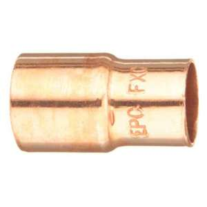 "Elkhart Products 10032050 Reducer, Type: FTG x C, Size: 1/2 x 1/4"", Copper"