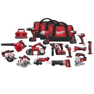 Milwaukee 2695-15 M18™ 15-Tool Combo Kit