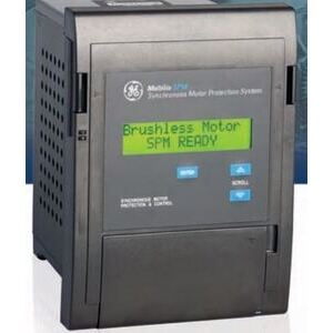 GE SPMPFH Relay, Synchronous Motor Protection, VDN Board, Power Factor Regulation
