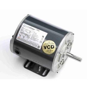 Marathon Motors B386-GX Motor, Air Compressor, 5HP, 3600RPM, 208-230VAC, 1PH, Drip Proof