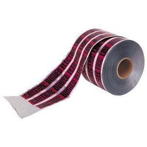 """Ideal 42-251 Detectable Tape, CAUTION BURIED ELECTRIC LINE, Red, 6"""" x 1000'"""