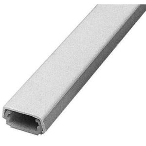 "Wiremold 400BAC-WH Raceway Base & Cover, Non-Metallic, White, 7/8"" x 5'"