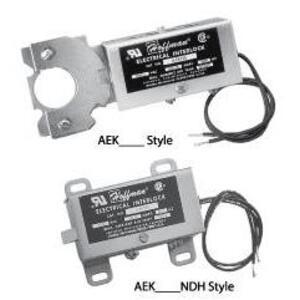 Hoffman AEK230 Electrical Interlock, 230V/60Hz, For NEMA 12 Enclosures, Steel