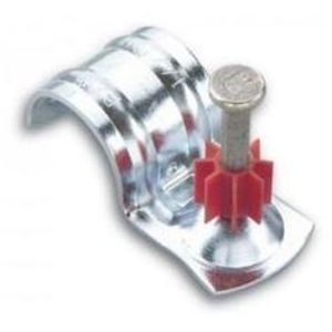 "Powers Fasteners 50382 1/2"" EMT Conduit Clip with 1"" Pin"