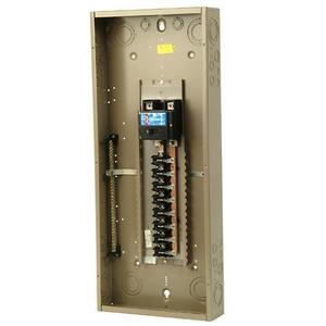 Eaton CH32B200J Load Center, Main Breaker, 200A, 120/240V, 1PH, 32/32, NEMA 1
