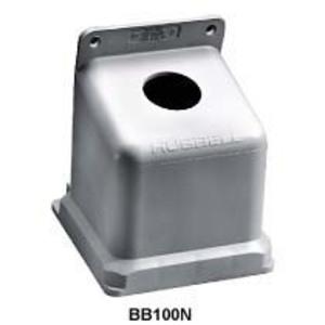 "Hubbell-Kellems BB100N Back Box, Thermoplastic, 15 Deg Angle, 1-1/2"" Hub, 100A"