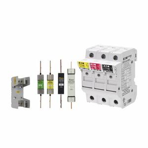 Eaton/Bussmann Series CVRI-CCM Fuse Block Cover, 30A, 600VAC, 1P, Types CC, w/Indicator, Box Lugs