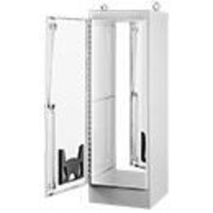"Hoffman A602418FS 1-Door, 3-Point Latch, Steel/Gray, 60"" x 24"" x 18"""