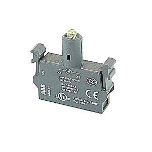 ABB MLBL-04Y LED block - 110-130 V AC, integrated LED - Yellow