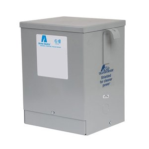 Acme T279743S Transformer, 3KVA, 1P, 120/208/240/277V, Isolation