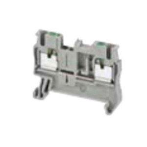 Square D NSYTRP22BL Terminal Block, 5.2mm, Feed Through, Blue, 20A, 600VAC, Push In