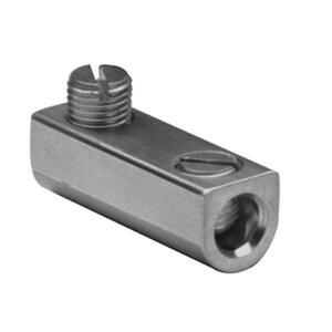 Burndy AMS0 Mechanical Splicer/Reducer, Aluminum, 8 - 1/0 AWG