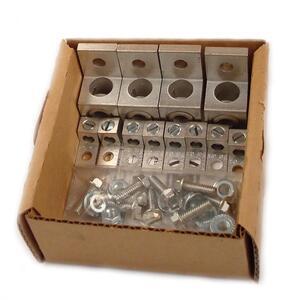 Eaton LKS1 Terminal Lug Kit,  4 x 6 - 250 MCM, 8 x 14 - 2 AWG Lugs & Hardware