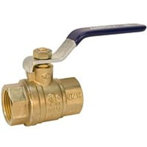 "NIBCO NL998HD Ball Valve, Two-Piece, Full Port, NPT x NPT, Size: 2"", Brass"