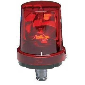 Federal Signal 225-120R Beacon, Rotating, Incandescent, Red, 120VAC, NEMA 4X