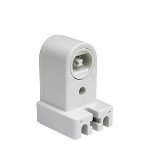 Pass & Seymour 465 Fluorescent Lampholder, Pedestal, White