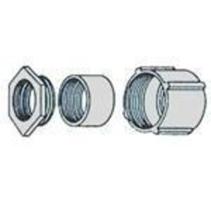 """American Fittings Corp ER200 2"""" 3-Piece Steel Coupling"""