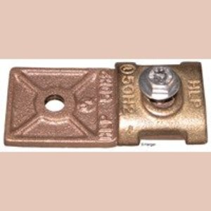 Harger Lightning & Grounding 222 CU HEAVY DUTY BONDING LUG