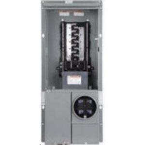 Square D SC2040M125PF Meter Main, All-In-One, 125A, OH/UG Service, Main Breaker, 20/40