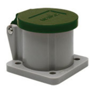 Leviton 16S31-UG Male/Female, Thermoplastic Housing and Cover, Green