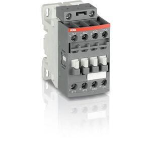 ABB AF16-40-00-13 Af16 4p Contractor, 100-250vac/dc