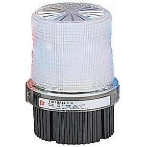 Federal Signal FB2PST-120C Beacon, Type: Strobe, Clear, Voltage: 120VAC