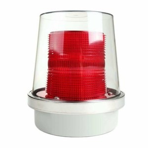 Edwards 90R-N5 Strobe 120vac Red