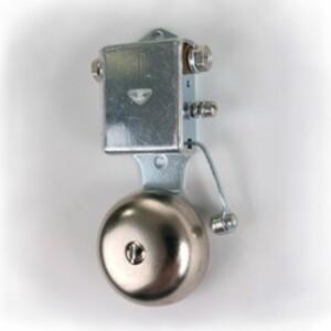 "Edwards 13-2G5 Vibrating Bell, 24VAC, Diameter: 1"", 0.25A, Adjustable Volume"