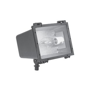 Hubbell-Outdoor Lighting F-100H1 Flood Light, Pulse Start Metal Halide, 100W, Bronze