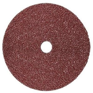 """3M 982C-4.5IN-80GRIT Right Angle Fiber Disc, 4-1/2"""", 80 Grit"""