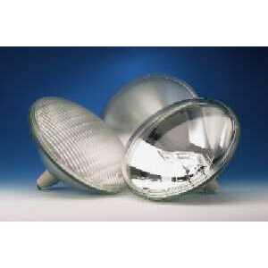 SYLVANIA 500PAR56Q/HAL/MFL-120V Halogen Lamp, PAR56, 500W, 120V, MFL