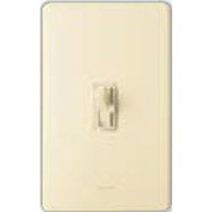 Lutron AY-103P-IV Toggle Dimmer, 1000W, 3-Way, Ariadni, Ivory