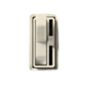 Lutron AYLV-603P-WH Toggle Dimmer, 450W, 3-Way, Ariadni, White