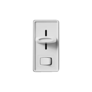 Lutron S-103PH-WH Slide Dimmer, 1000W, 3-Way, Skylark, White