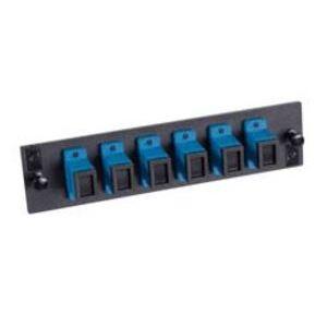 Optical Cable 616SCAPC Adapter, Fiber, 6 Port, Single-mode, Polished, Composite Sleeve