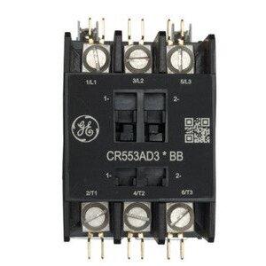GE CR553AD2ABB Contactor, Definite Purpose, 2P, 40A, 110-120VAC Coil, Open