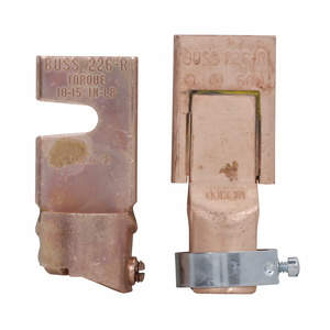 Eaton/Bussmann Series NO.226-R Fuse Reducers for Class R Dimension Fuses, 60A to 200A (Pair), 250V