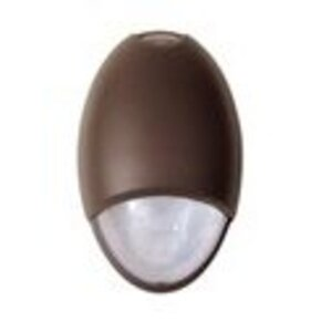 Mule MAKO-3-DB-RM Architectural Emergency Light Fixture, 2-6V, 6W Xenon Lamps