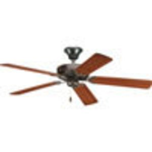 "Progress Lighting P2501-20 Paddle Fan, 5-Blade, 52"", Antique Bronze"