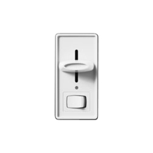 Lutron SF-103P-IV Slide Dimmer, 120V, 3-Way, Ivory