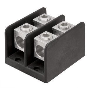 Ilsco PDB-22-2/0-1 Connector Block, 1-Pole, Line/Load - (2) 14 - 2/0 AWG