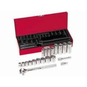 "Klein 65508 20-Piece 3/8"" Drive Socket Wrench Set"