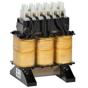 Hammond Power Solutions CRX07D6BC Line Reactor, AC, 3PH, 480VAC, 7.6A, 5 % Impedance, Core & Coil