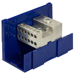 Ilsco LDA-22-350 Power Distribution Block, SnapBloc, Modular Design