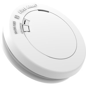 BRK-First Alert PR710B Photoelectric Smoke Alarm, 3V Lithium Power Cell