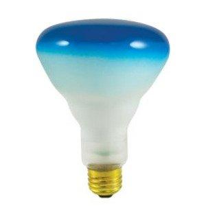 Bulbrite 75BR30B Incandescent Reflector Lamp, BR30, 75W, 120V, Blue