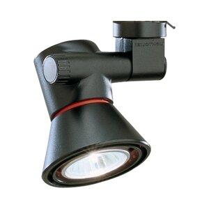 Lightolier 8201BK Track Head, Universal, 1 Lamp, 150W, Black