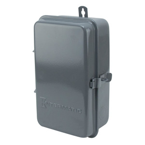 Intermatic T103R Mechanical Timer, 24-Hour, DPST, NEMA 3R