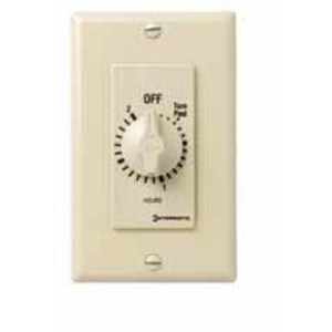 Intermatic FD15MC Spring Wound Timer, 15-Minute, SPST, Ivory