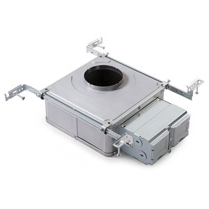 """Lightolier L3AE1 Frame-In kit, LEDHousing, AirSeal IC, New Construction, Screw, 3"""", 120VAC"""